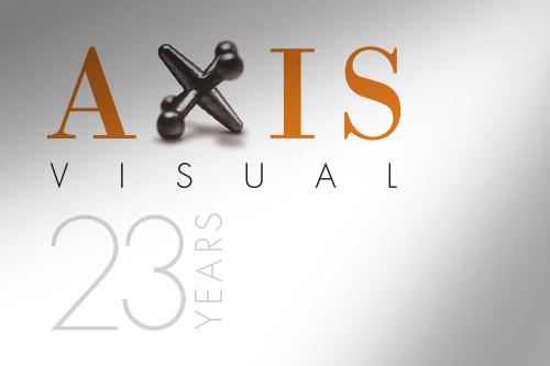AXIS visual 23 year logo